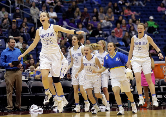 1A UIL Girls Basketball State Championship Game at Alamodome