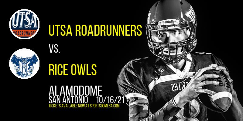 UTSA Roadrunners vs. Rice Owls at Alamodome