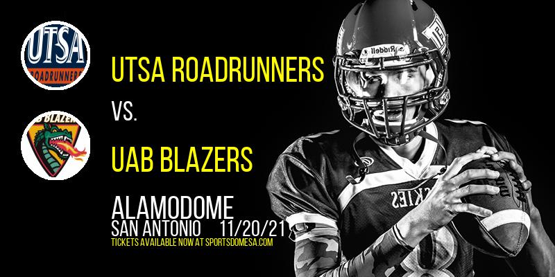 UTSA Roadrunners vs. UAB Blazers at Alamodome