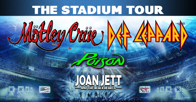 The Stadium Tour: Motley Crue, Def Leppard, Poison & Joan Jett and The Blackhearts at Alamodome